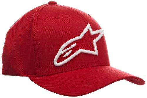 Alpha - Cappello, Uomo, rosso (Red (Red/White)),