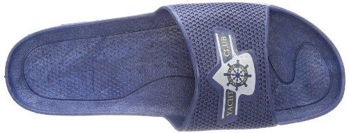 Fashy Yacht Club 7227 10, Unisex - Erwachsene Bade Sandalen Blau (Marine 54)