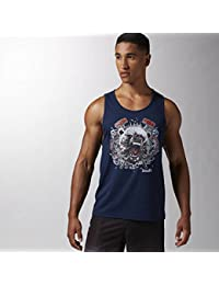 Reebok RCF Bear Tank – conavy, color multicolor, tamaño xx-large