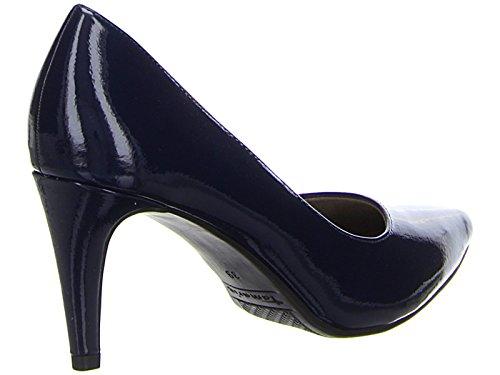 Tamaris 22447, Scarpe con Tacco Donna, Blau, 36 EU Blu (Navy Patent)