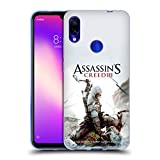 Head Case Designs Ufficiale Assassin's Creed Connor Ascia III Arte Chiave Cover Morbida in Gel per Xiaomi Redmi Note 7/7 PRO
