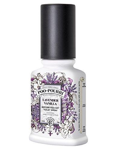 Poo-Pourri Before-you-go WC Spray Bouteille de 56,7 gram, lavande parfumé à la vanille par Poo-Pourri