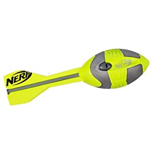 Nerf N-sports Vortex Aero Hurleur Football, Vert et gris