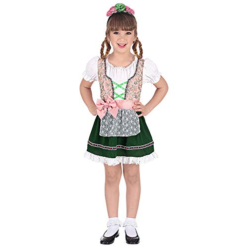 WIDMANN Disfraz de Tirolesa Karen para niña T-2/3 años