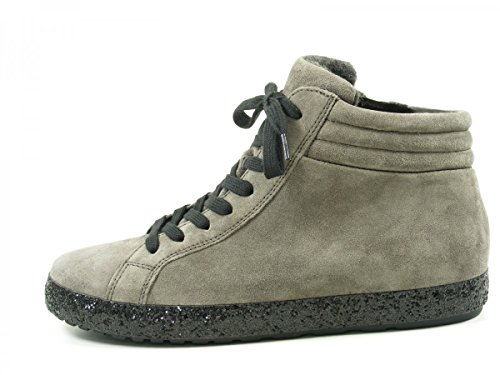 GABOR comfort - Damen High Top Sneaker - Grau Schuhe in Übergrößen elepha(S.pail/Mel)