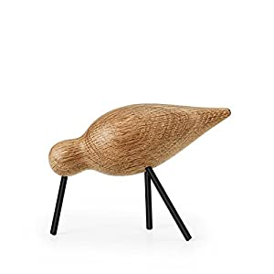 Normann Copenhagen 100158 Shorebird - Dekovogel/Holzvogel - Eichenholz - Medium - 15 x 5,5 x 11 cm