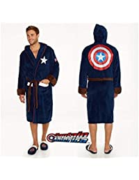 Captain America Logo Peignoir multicolore taille unique