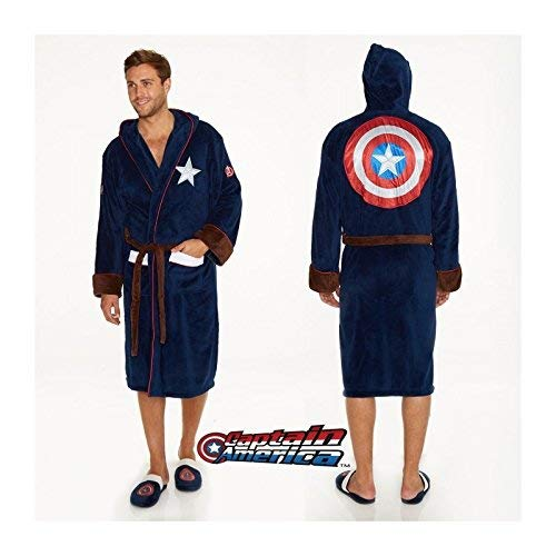 Captain america Logo Bademantel Multicolour one ()