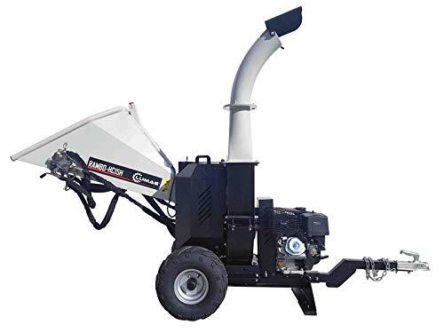 LUMAG RAMBO HC 15 H Benzin-Scheibenradhäcksler mit hydraulischer Einzugswalze Neues Gerät von LATU-SERVICE
