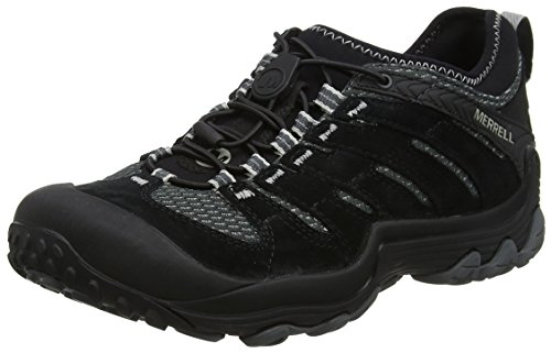 Merrell Herren Cham 7 Limit Stretch Trekking-& Wanderhalbschuhe, Schwarz (Black), 44.5 EU (10 UK) -