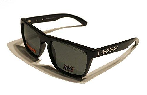 Dirty Dog Monza Brille, Unisex Erwachsene L Schwarz