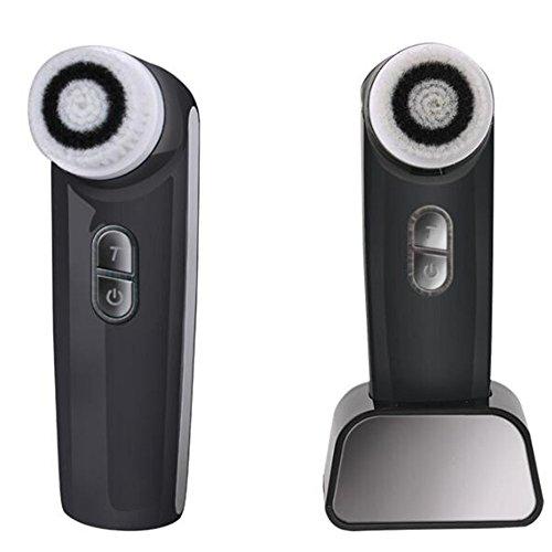 Bürste Facial 2018Neue Reinigungsbürste Facial Elektrische C1155Wasserdicht für die Peeling durch Das Entfernen Punkt Schwarz Schwarz