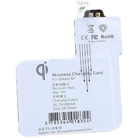 Samsung S4 Receptor inalambrico de carga - TOOGOO(R)Qi bobina de receptor inalambrico de carga (Receptor para Samsung S4 i9500 /