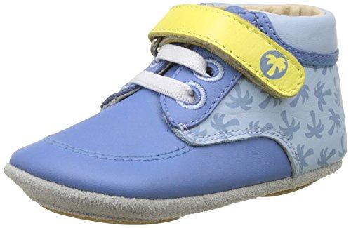 Robeez Follow Me Baby, Chaussons pour enfant bébé garçon Bleu (Bleu Denim)