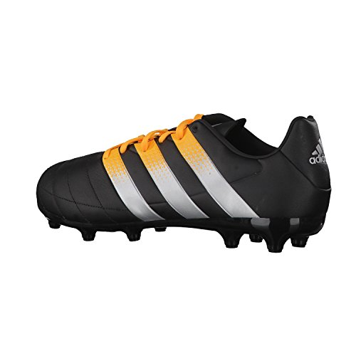 adidas Ace 16.3 FG/AG Leather, Chaussures de Foot Homme Black