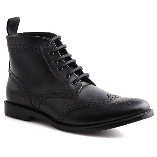 unze-bunt-men-leather-brogues-formal-boots-casual-boots-lace-up-ankle-boots-black-9-uk
