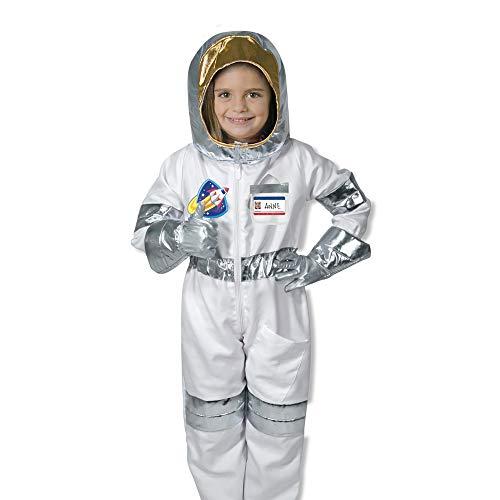 Einfache Weltraum Kostüm - Melissa & Doug 18503 Astronaut Rollenspiel-Kostüm-Set