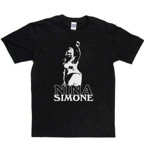 Nina Simone 1 American Singer Pianist Classical Jazz Blues T-shirt Schwarz