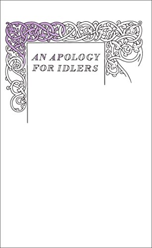 An Apology for Idlers (Penguin Books Great Ideas) por Robert Louis Stevenson