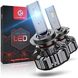 H7 LED 12000LM, Ampoule 6000K, 12V