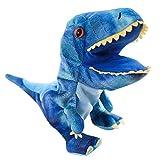 NUOBESTY Burattino di Mano a Forma di Dinosauro Mano Pupazzo Animali Burattini Pupazzi Giocattoli di Peluche per Fantasia Gioca Spettacolo Marionetta Genitore-figlio