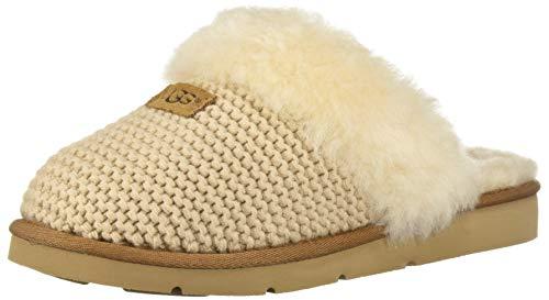 UGG Australia Damen Hausschuhe Cozy Knit Slipper 1095116 CRM beige 569181, Beige, 37 EU