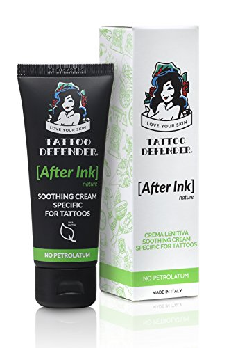 Tattoo Defender After Ink - Soothing Cream 50 ml by TATTOO DEFENDER