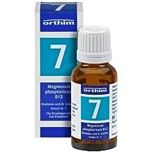 Schuessler Globuli Nr. 7 - Magnesium phosphoricum D12 - 15g Globuli - gluten- und laktosefrei