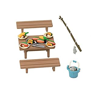 Sylvanian Families barbecue over -615 (japan import)