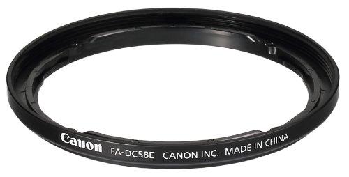 Canon 9554B001 FA-DC 58 E Filteradapter Canon 58mm Adapter