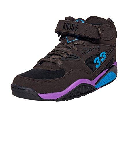 Ewing Athletics Sneaker alla moda da uomo Black/Dewberry/ Atomic Blue