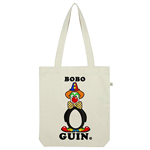 TWISTED ENVY Bobo Guin Clown Pinguin Tasche Weiß ()