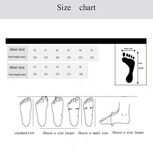 Hommes Casual Chaussures décontractées pour hommes Chaussures de sport en plein air Mocassins plats à lacets givrés ( Size : 45 ) 45