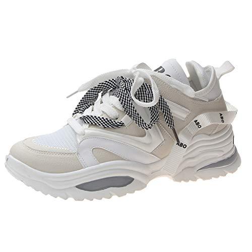 Drift Cat Leder Casual Schuh (TWISFER Herren Sneaker Sport Casual Laufschuhe Atmungsaktiv Turnschuhe Schnüren Outdoor Freizeit Sneaker Mode Trend Schuhe)