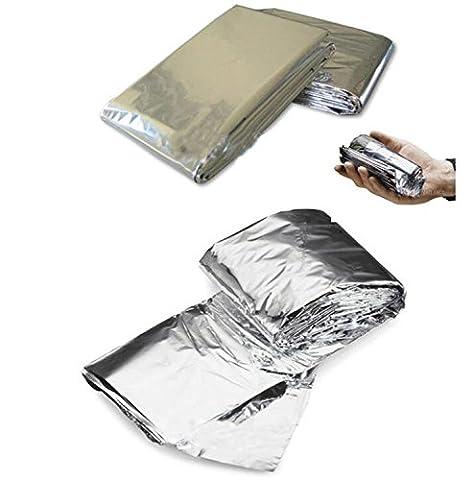 Couverture en aluminium à double face en aluminium, couverture de