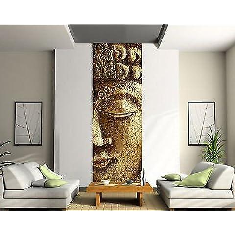 StickersNews 2014 - Adesivo da parete, motivo Buddha, 91x260cm