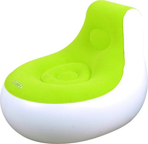 Jilong 37266NV Relax Indoor Sessel aufblasbar, Splash, 93x 86x 73cm 93x86x73 cm grün