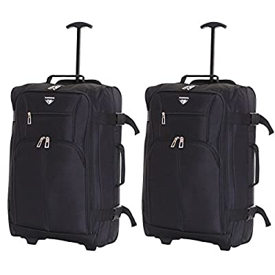 Slimbridge Lobos Set of 2 Cabin Approved Luggage Bags - cheap UK light store.
