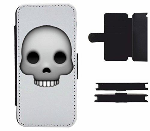 """Leder Flip Case Apple IPhone 5C """"Schädel Totenkopf"""", der wohl schönste Smartphone Schutz aller Zeiten."""