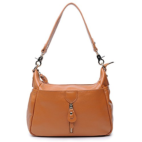 Chlln Leder - Tasche Flut Schulter Xiekua Paket Leder - Tasche Brown