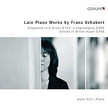 Schubert: Späte Klavierwerke - Sonate D 960/Impromptus D 899/Allegretto D 915