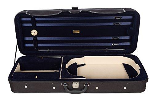 Bratschenkoffer Schaumstoff Premium 38-43 cm marineblau M-Case