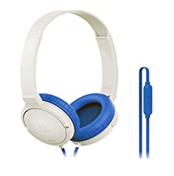 SoundMagic P10S White Blue Headphone with Mic