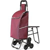 Carrito de compras Carro de la compra escalera con sillas | Carro de la compra antiguo