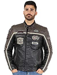 172ef40fc4a9 Amazon.fr   cuir - Redskins   Manteaux et blousons   Homme   Vêtements