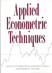 Applied Econometric Techniques by Keith Cuthbertson (1990-03-15)