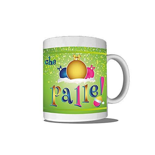 Altra marca tazza breakfast natalizia personalizzata mug prima colazione che palle (manico a cuore)
