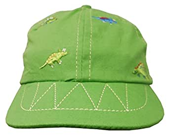 Baby Boys Dinosaur Baseball Cap ~ 4 Colours (Green)