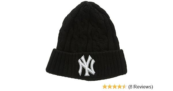 23b47fd9f4c New Era Men s New Era Cable Knit Ny Yankees Beanie Hat