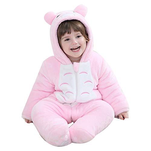 LSERVER Baby Mädchen (0-24 Monate) Spieler Pink Totoro 24-32M (Height 92-98cm)
